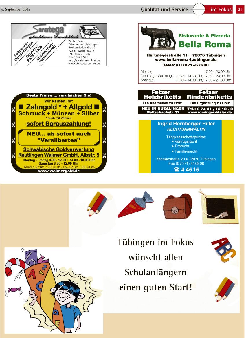 21 Tübingen Im Fokus