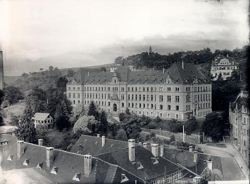Im Landgericht in der Doblerstraße wurden viele unschuldige Opfer verurteilt. Bild: Stadtarchiv Tübingen